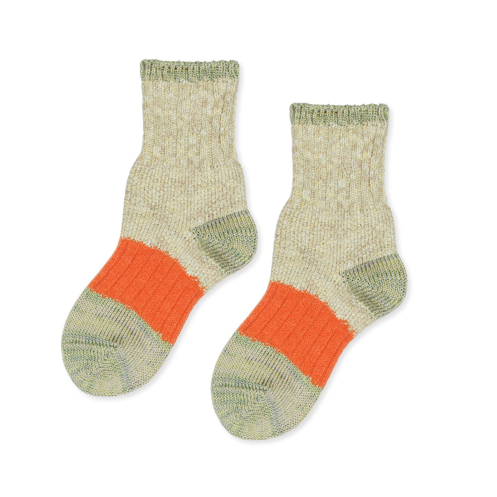 Hansel from Basel Pistachio Dapple Crew Socks/ 102513-PIS-OS