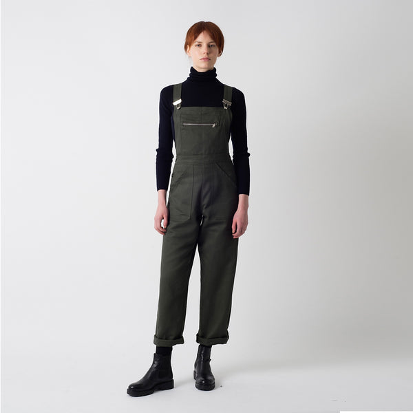 Olive Dungaree