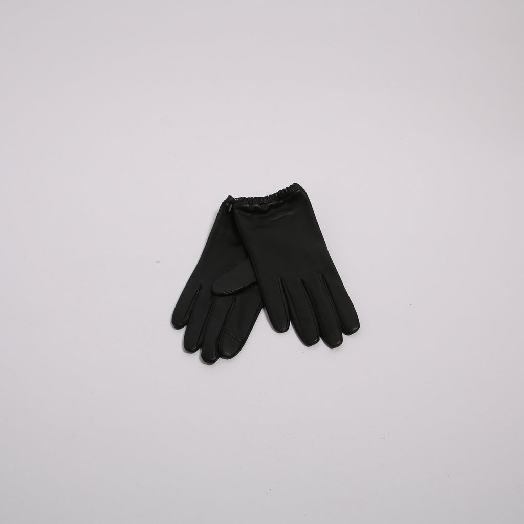 Aristide B01 Black Lambskin Leather Gloves
