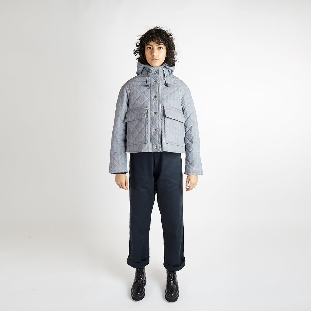 Prince of Wales Quilt Pop Jacket