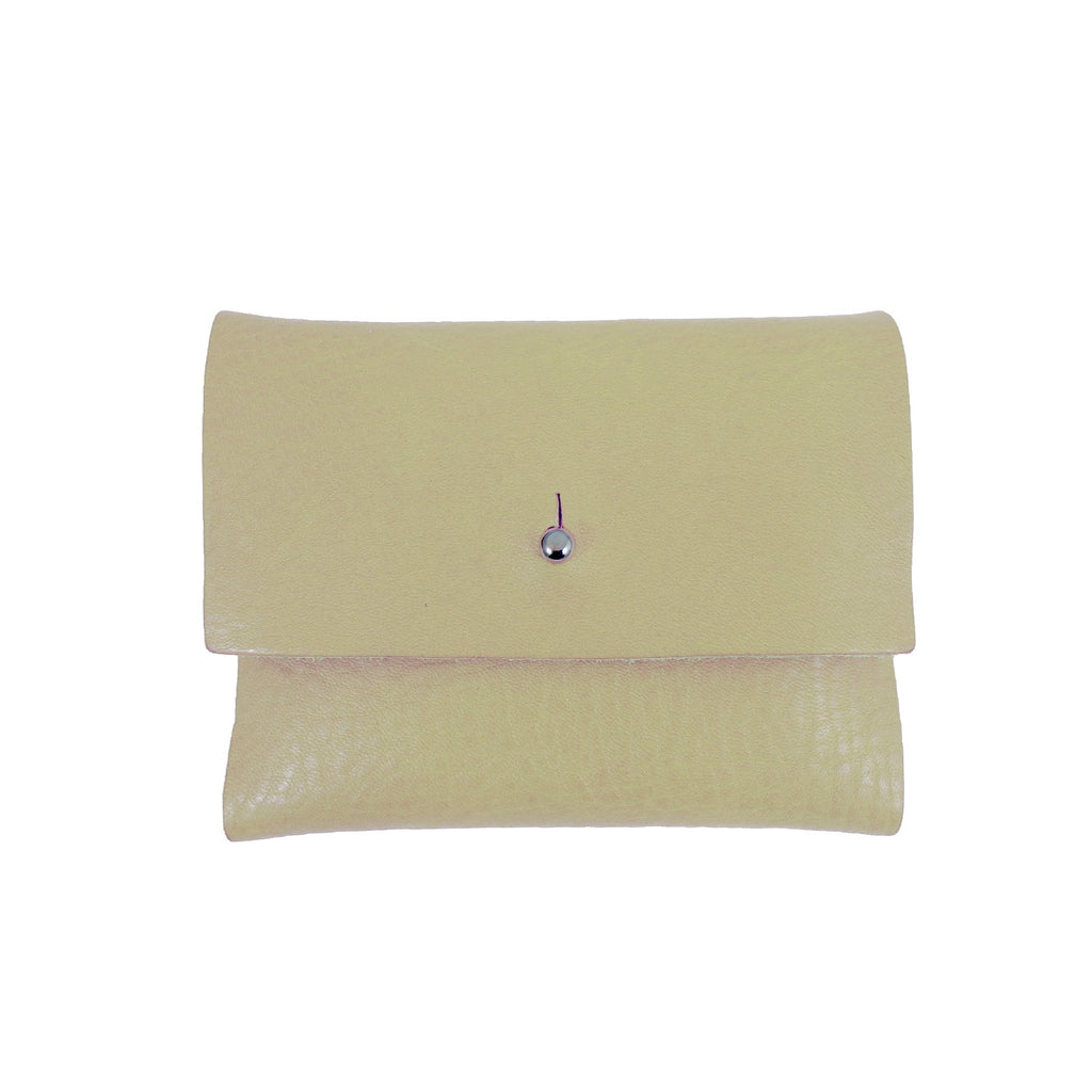 Tumbled Nude Loux Wallet