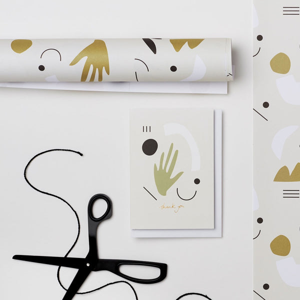 Kinshipped Fils Wrapping Paper - Light