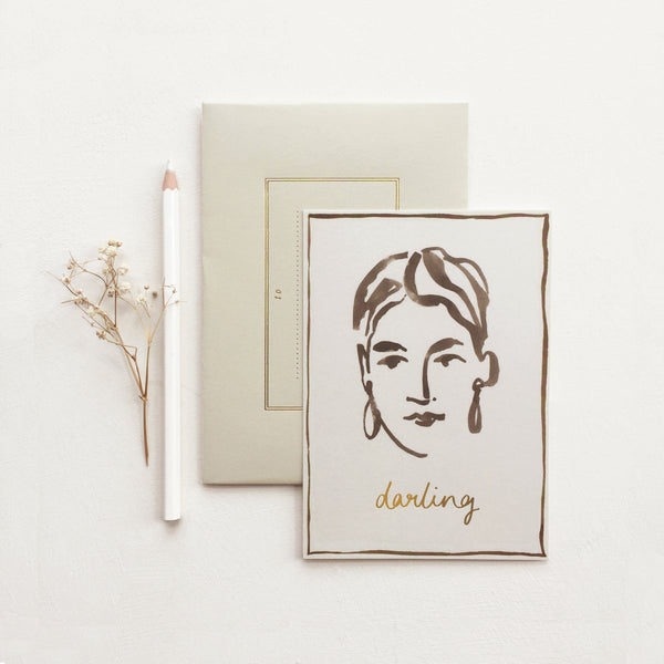 Wanderlust Darling card