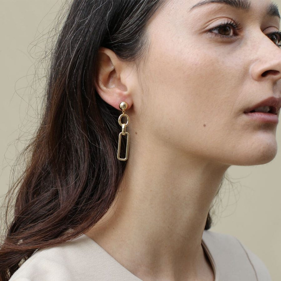 A Weathered Penny Gold Alana Earrings