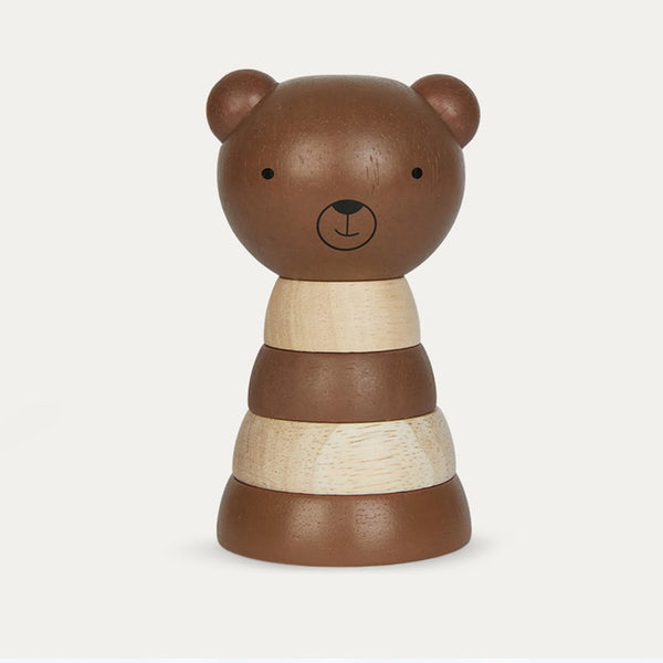 Wee gallery Bear Wood Stacker