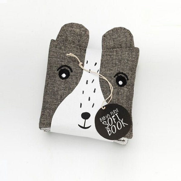 Wee Gallery Bear Soft Cloth Book