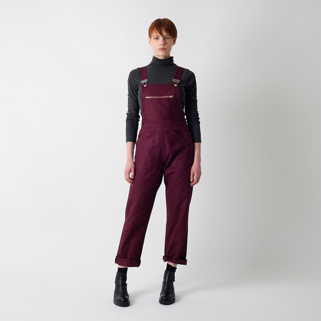 Plum Dungaree