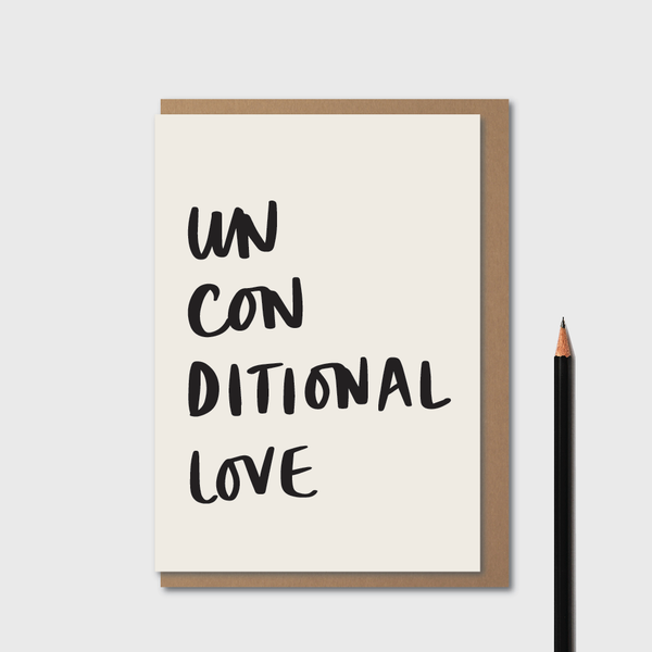 Unconditional Love - White