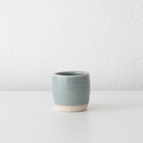 DOR & TAN Linen Blue Espresso cup set