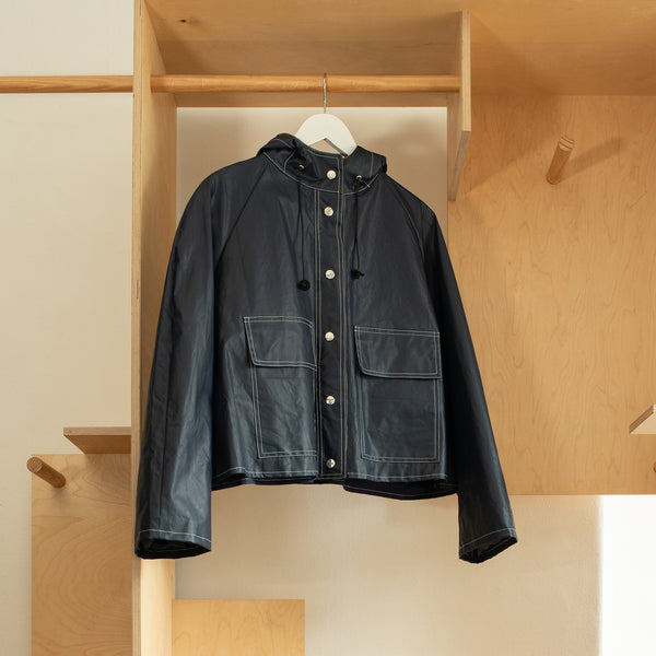 Navy Vaquero Pop Jacket