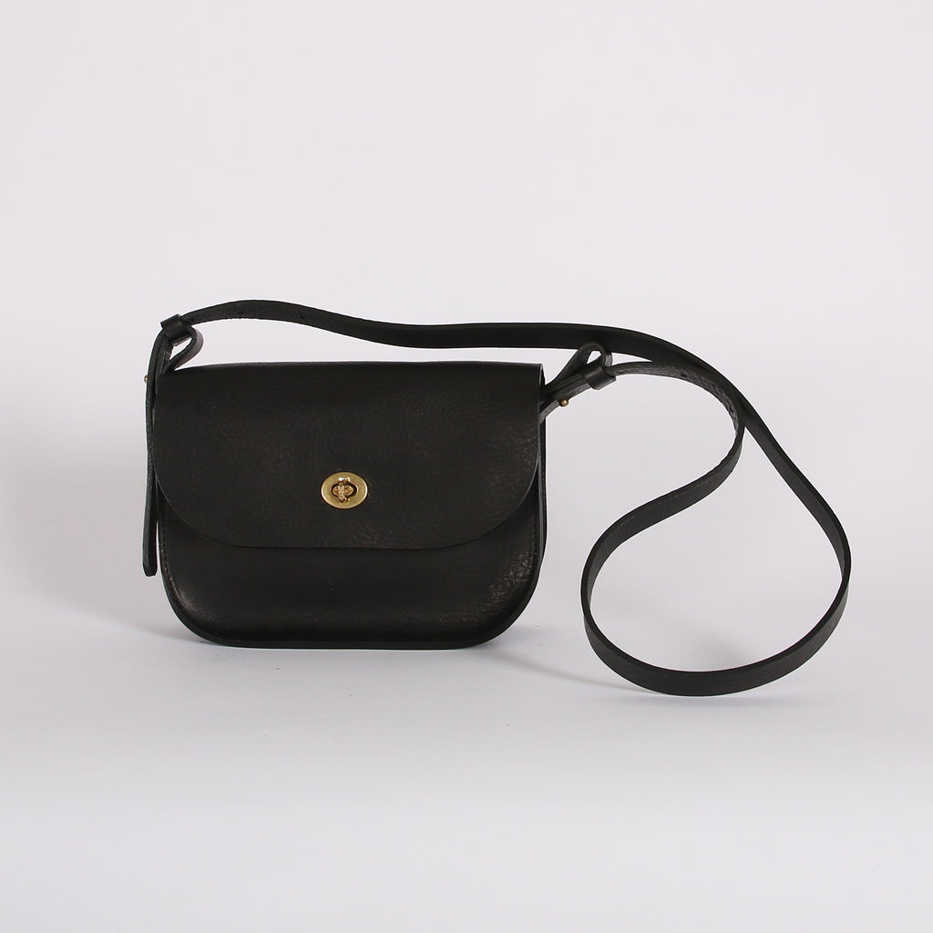 Black Celeste Lock Bag