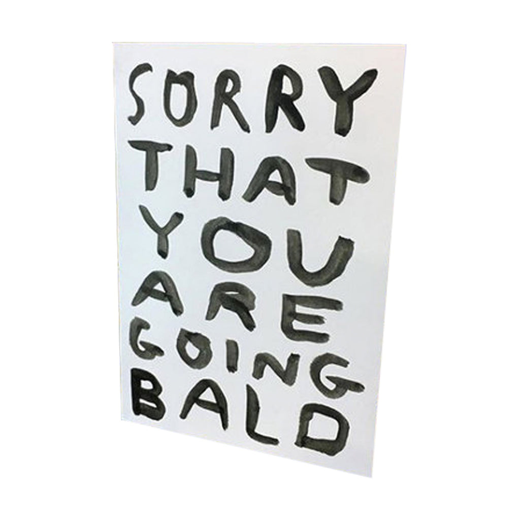 Babak Ganjei 'Sorry that you are going bald' Card