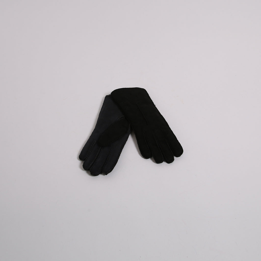 Aristide AF04 Black/Grey Leather Gloves