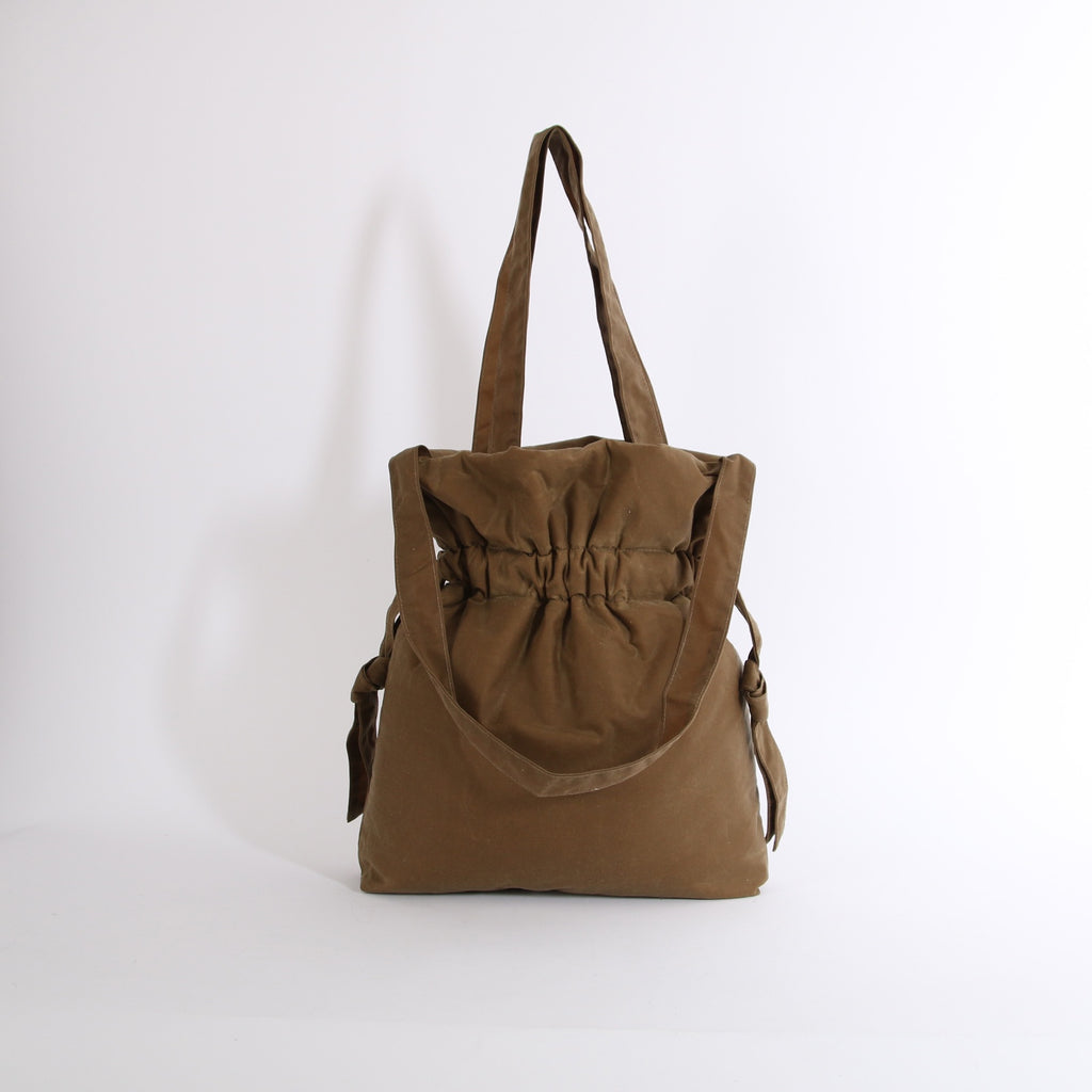 Sand Wax Gather Tote Bag