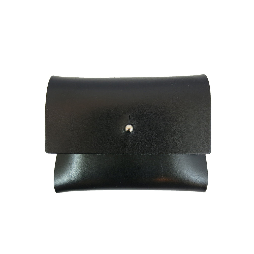 Smooth Black Loux Wallet