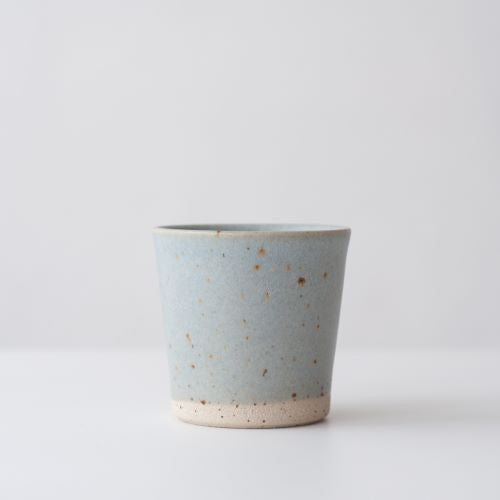 DOR & TAN Speckle Linen Blue Beaker