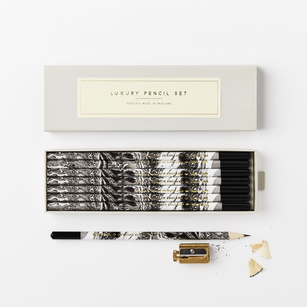 Katie Leamon Marbled Pencil pack