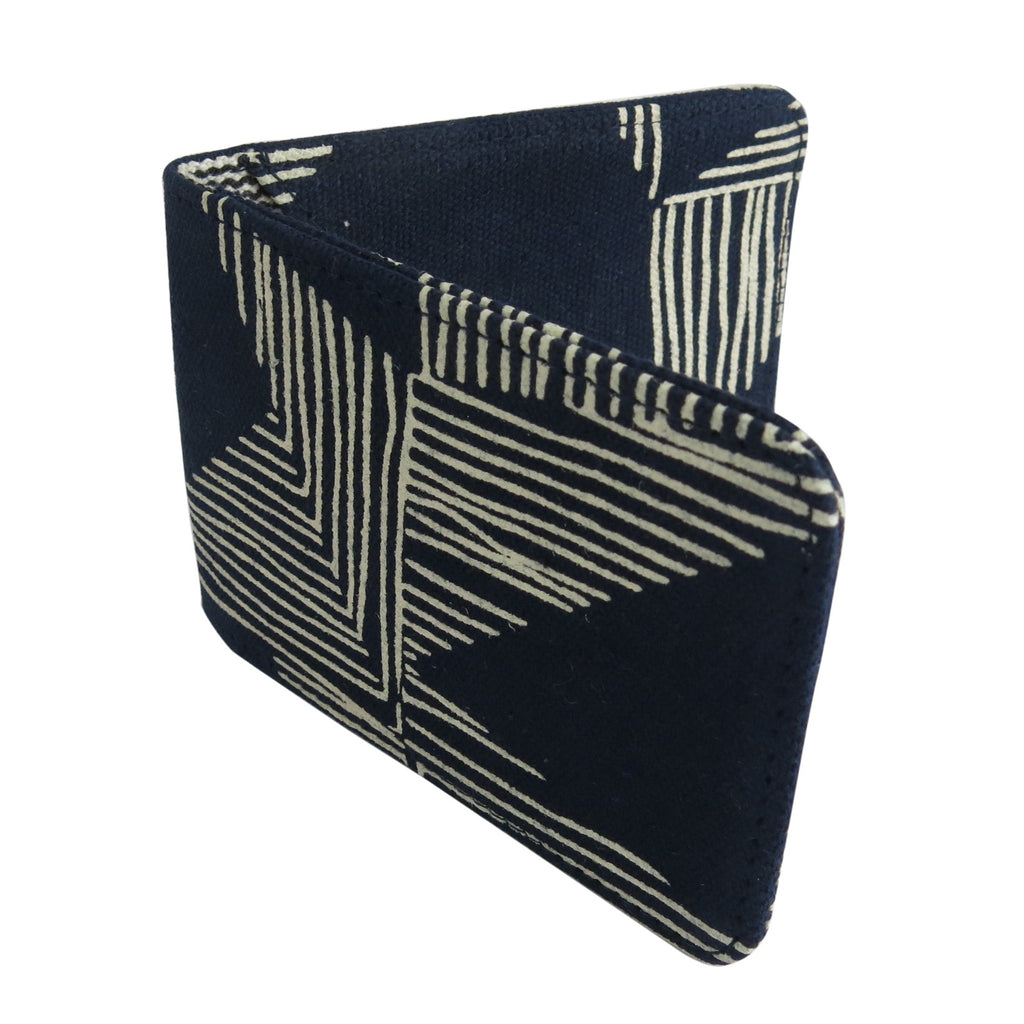 Navy Kindred Travel Card Holder