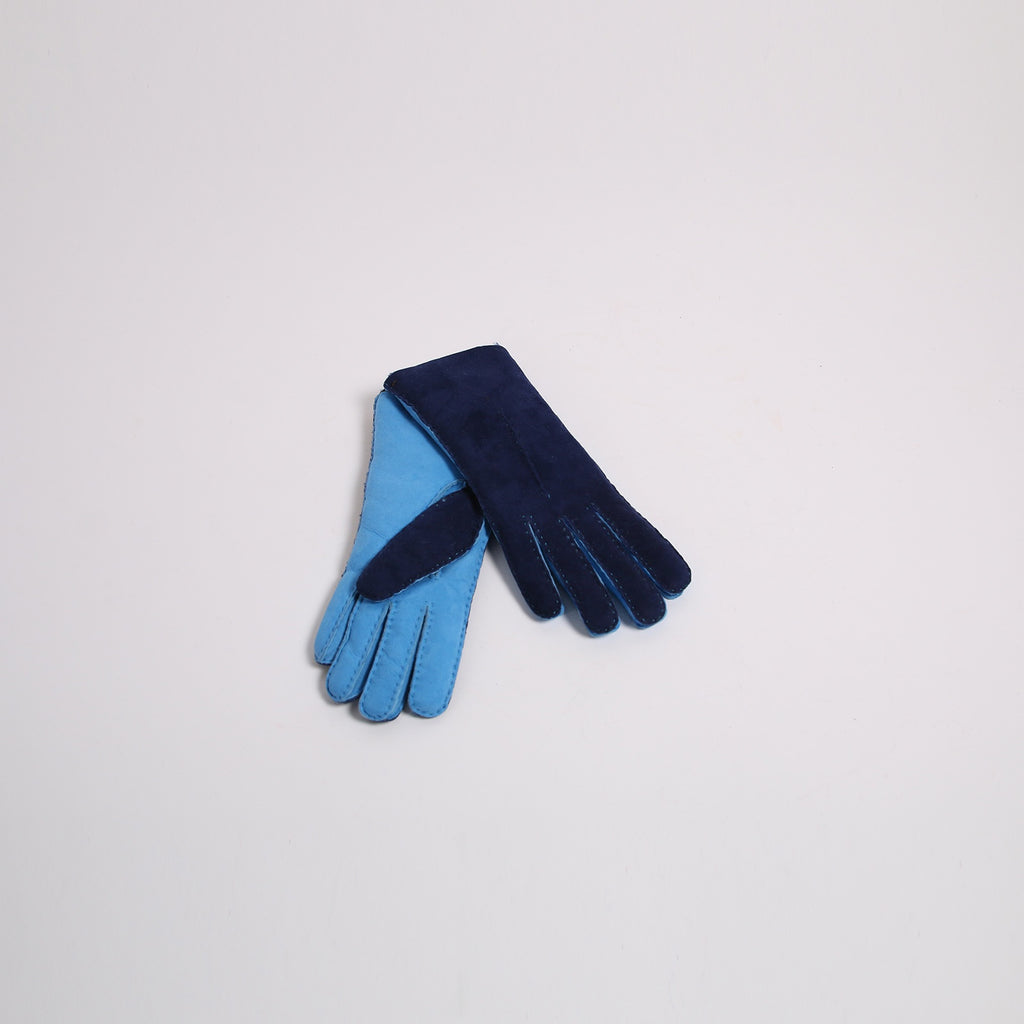 Aristide AF04 Sky Blue Leather Gloves