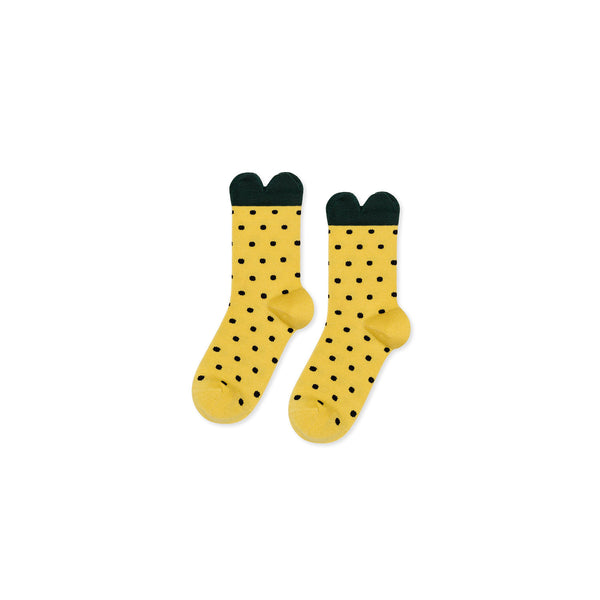 Hansel From Basel Lemon Baby Crew Socks