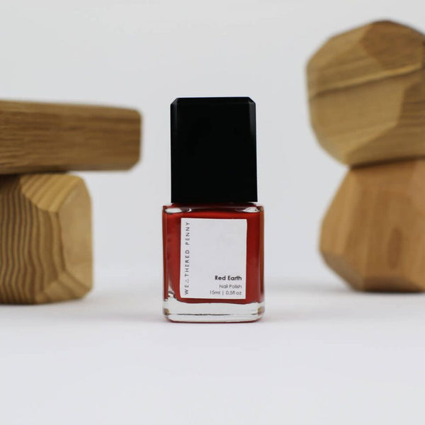 A Weathered Penny Red Earth Nail Polish