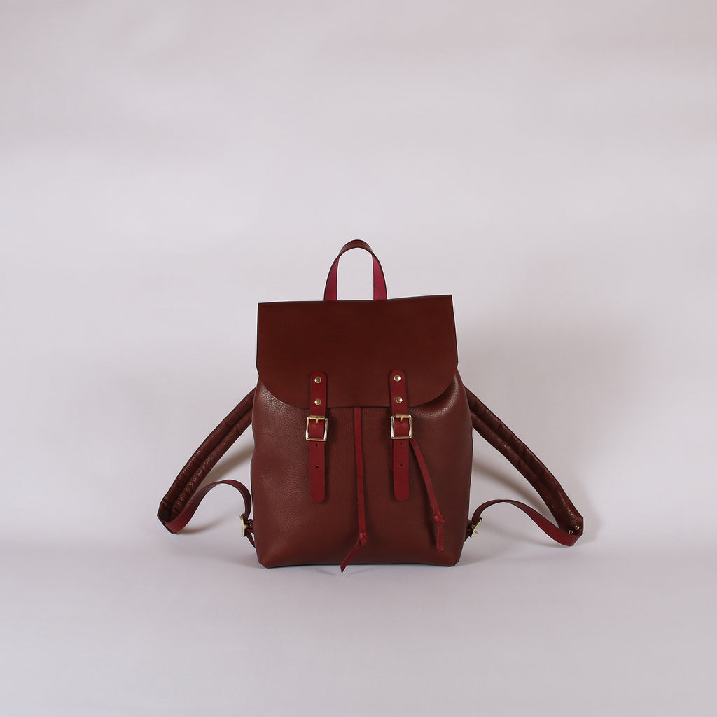Small Buckle Rucksack Arbia