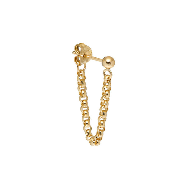 Nagle and Sisters Single Short Chain Loop Stud