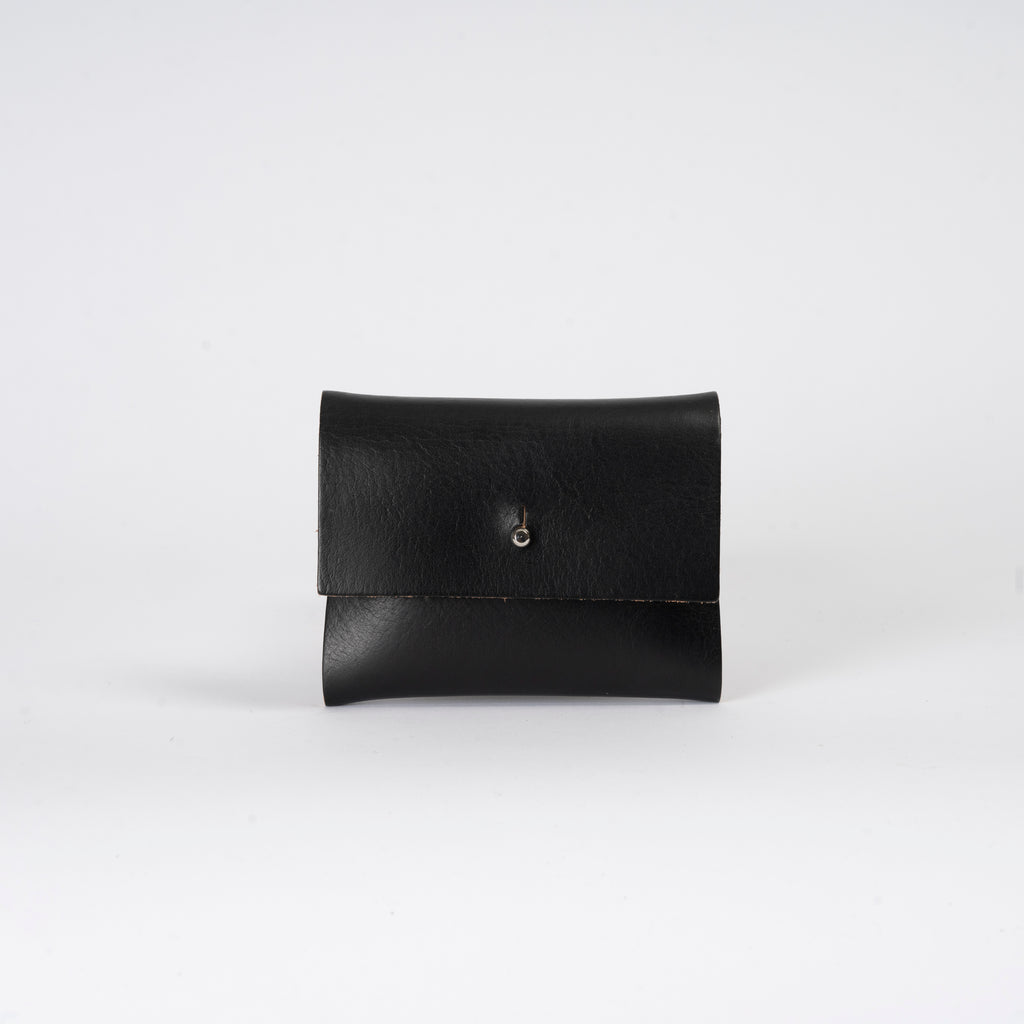 Black Raw Loux Wallet