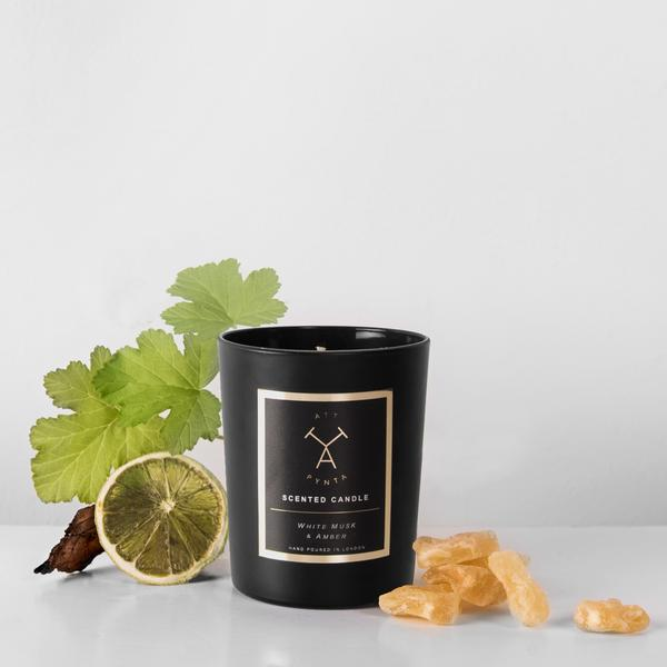 Att Pynta Musk & Amber Scented Candle