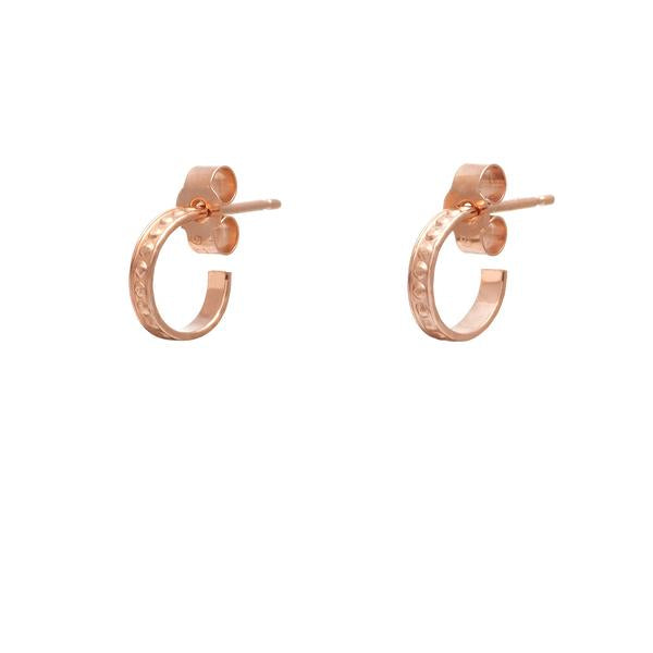 Nagle and Sisters Dot Huggie Earring