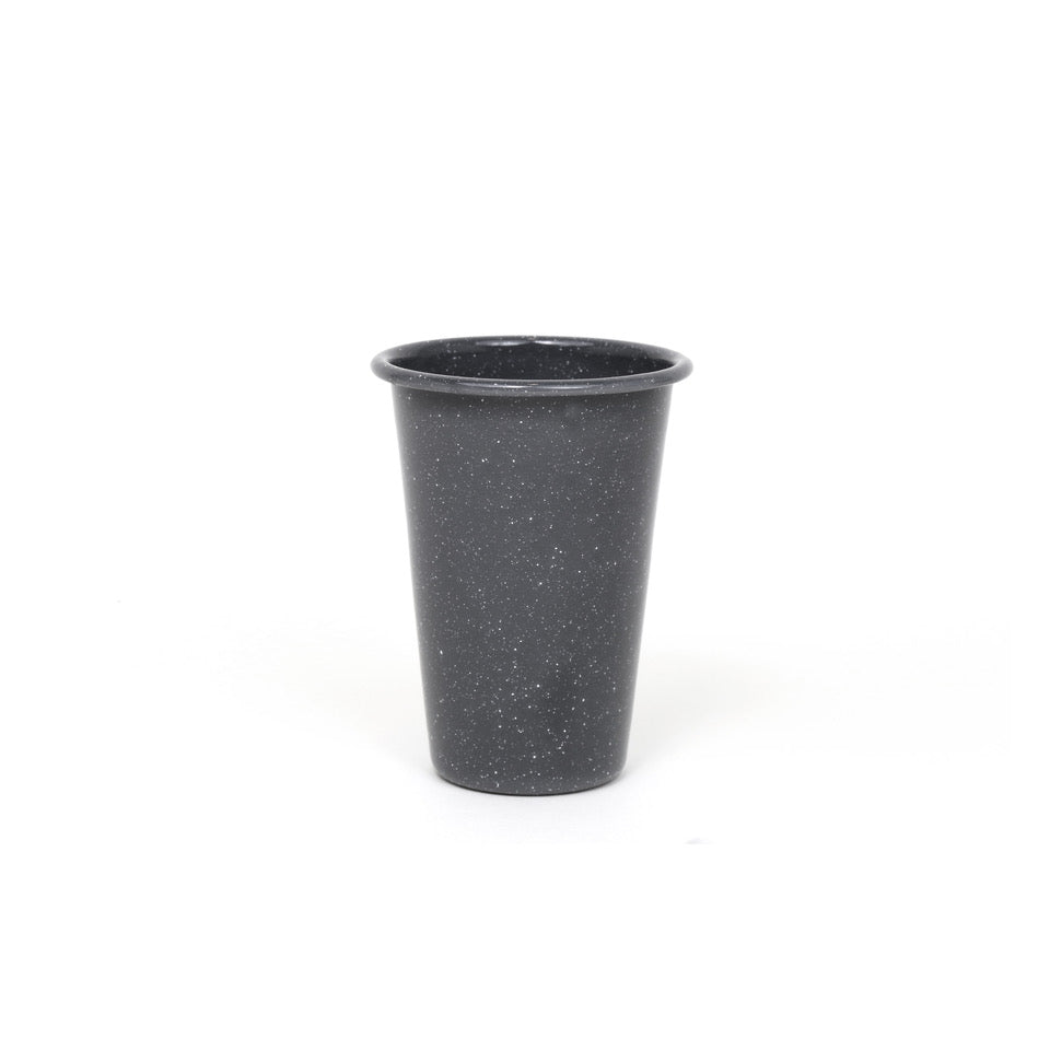 Grey Flecked Enamel Tumbler