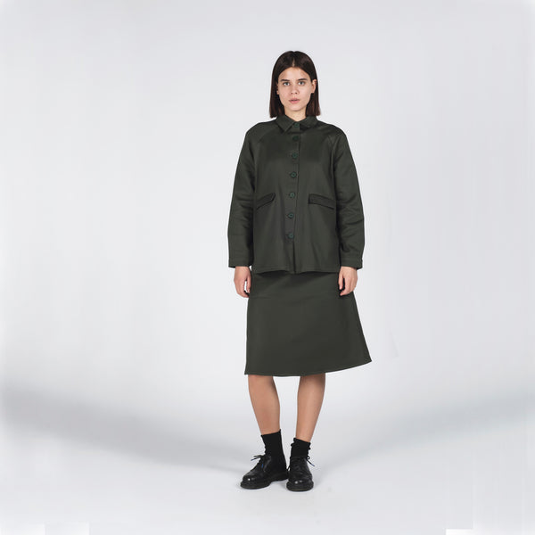 Forest A-Line Jacket