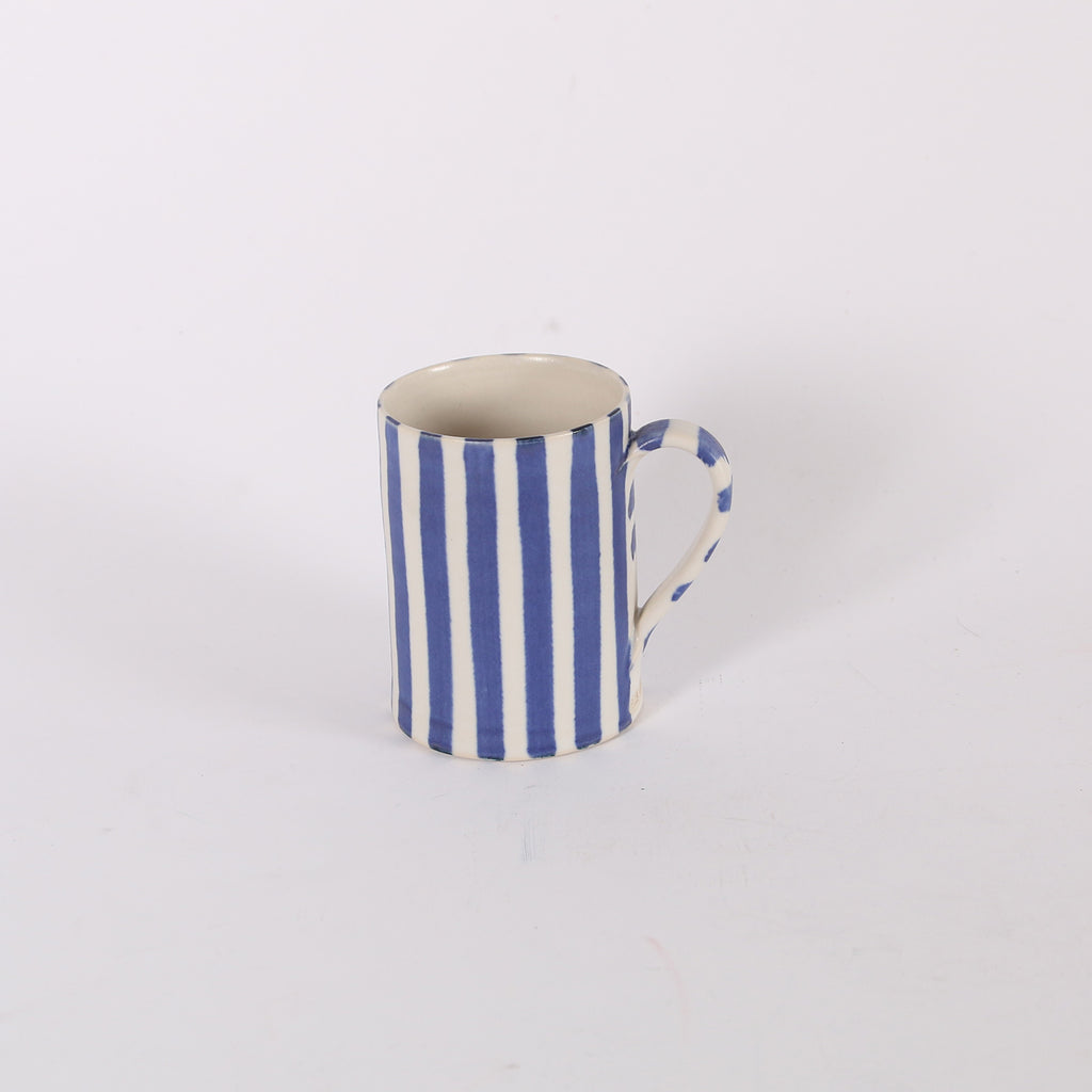 Sue Binns Midi Striped porcelain Mug