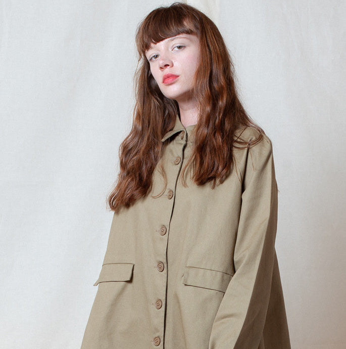 Putty A-Line Jacket