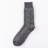 Rototo Dark Grey/Black Silk and Cotton Socks