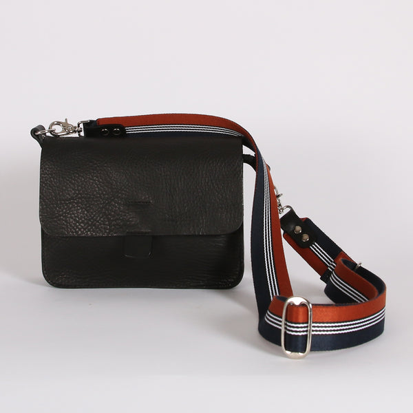Black Tab Bag SS20 Web Strap