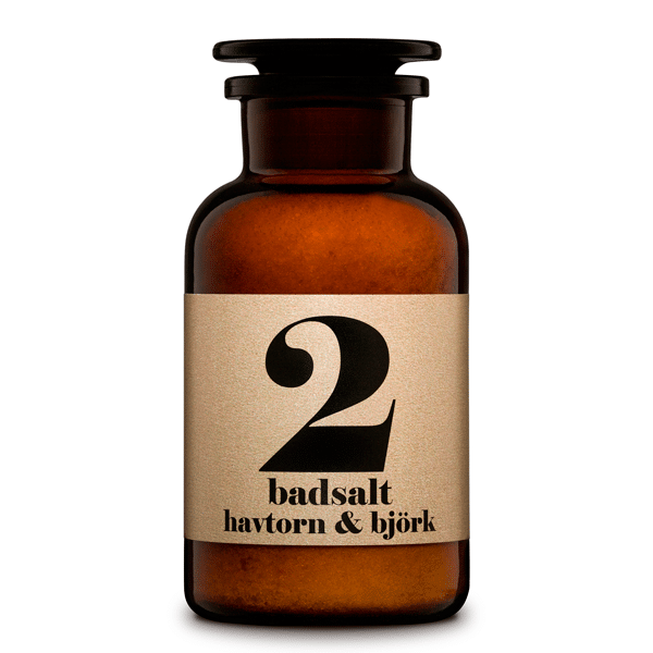 NO 2 - Hawthorn & Beechwood Terrible Twins Bath Salt