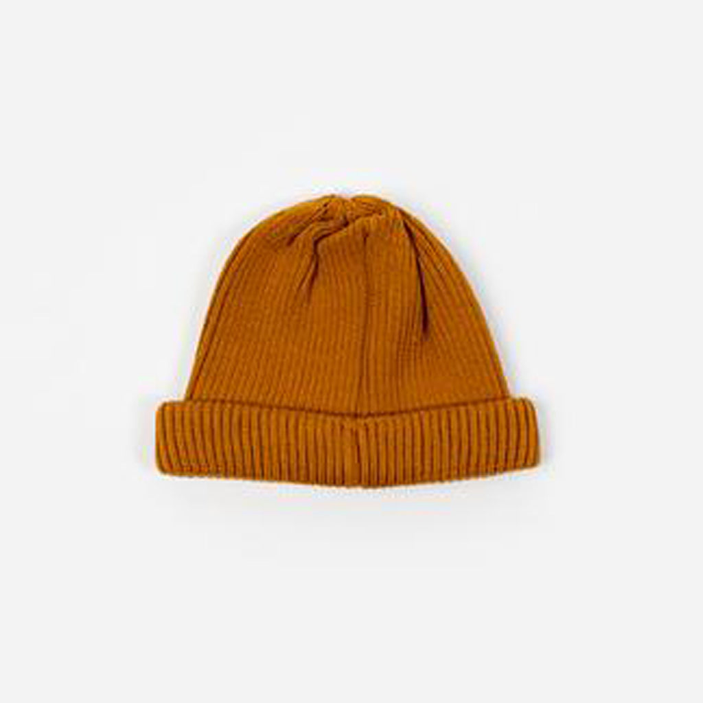 Rototo Roll Up Beanie Yellow R5021