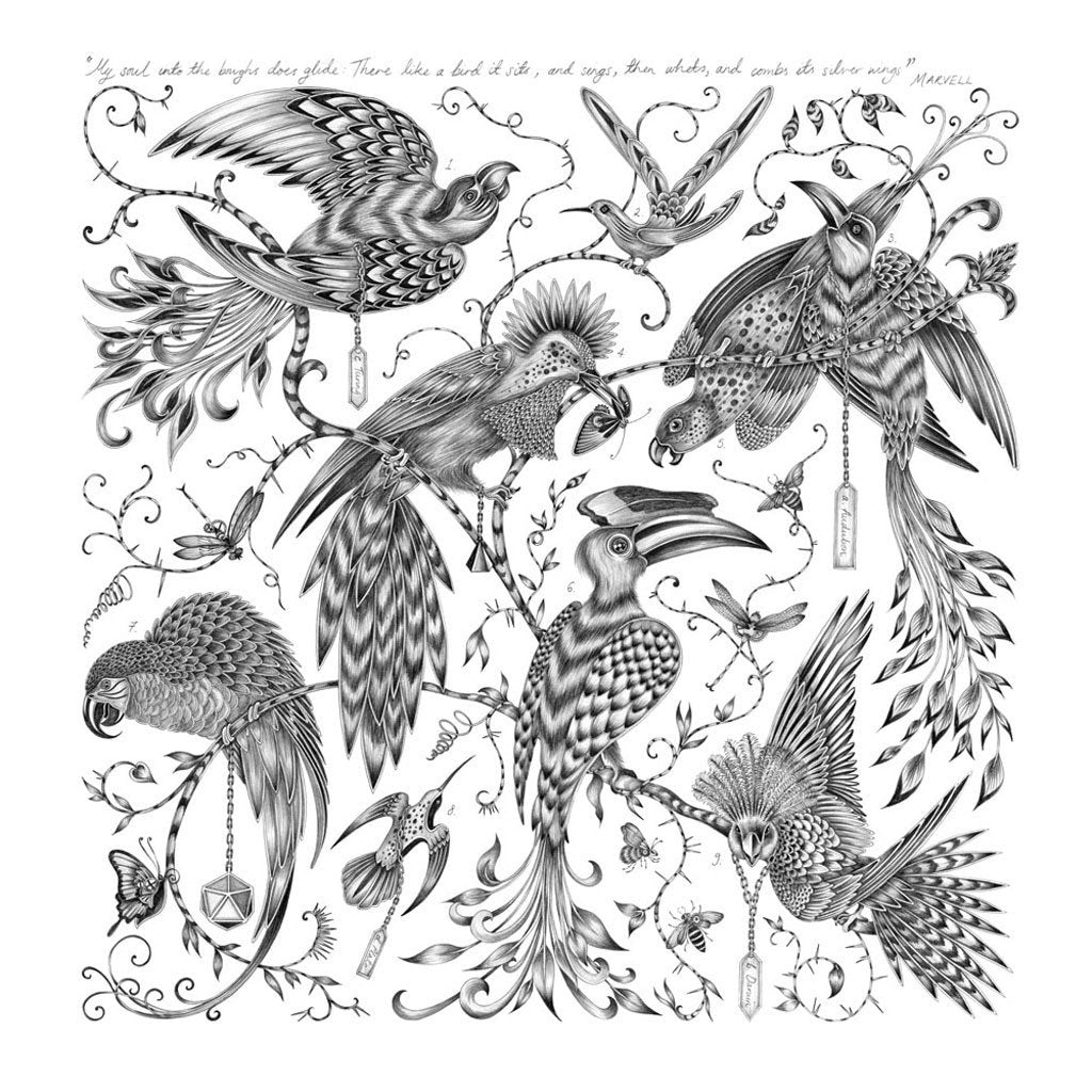 Emma Shipley Giclee Print - Menagerie Paradisi