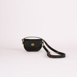 Black Mini Lune Belt Bag