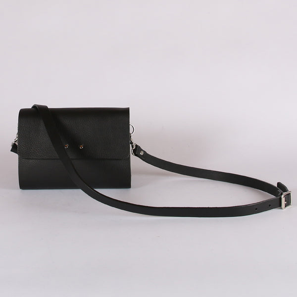 Black Tumbled Rhythm Bag