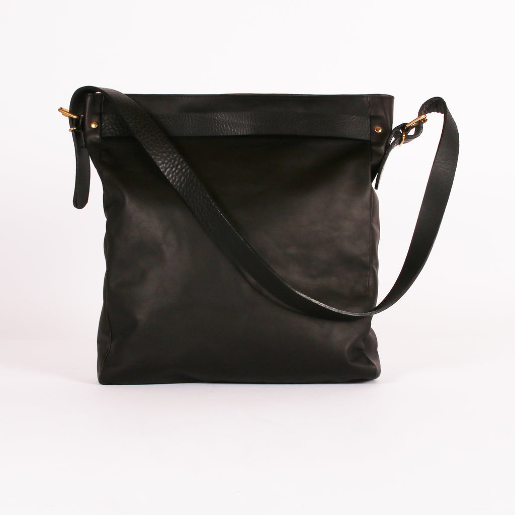 Black Slouch Tote AW20