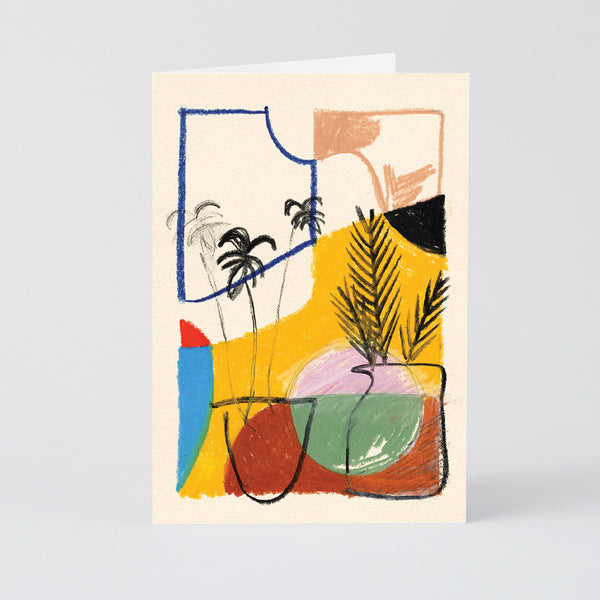 Wrap Water the Plants Art Card
