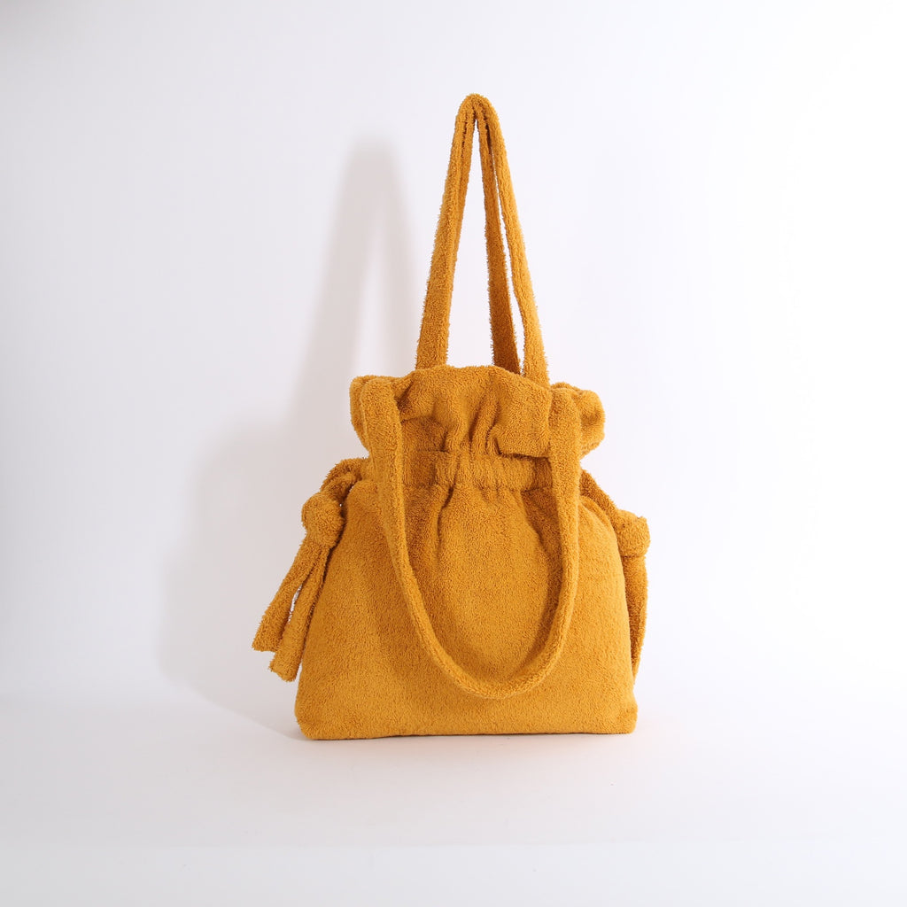 Yellow Terry Gather Tote