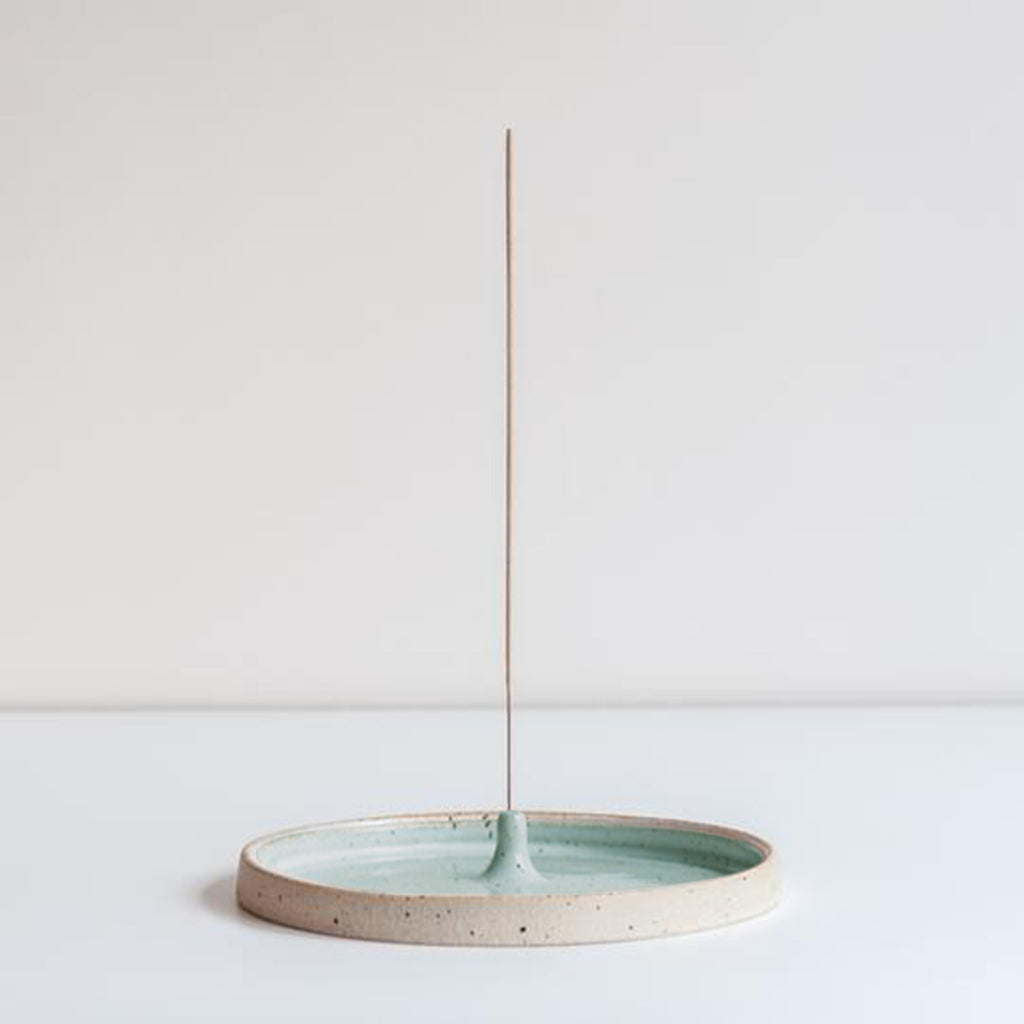 Dor & Tan Incense Holder Celadon Green