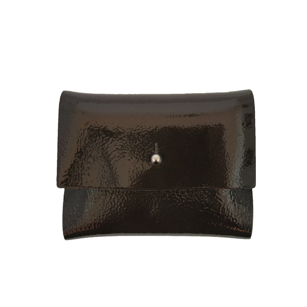 Cocoa Patent Loux Wallet