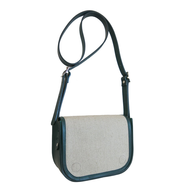 Forest Flax Mini Frame Bag