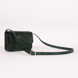 Green Shiny Tab Bag