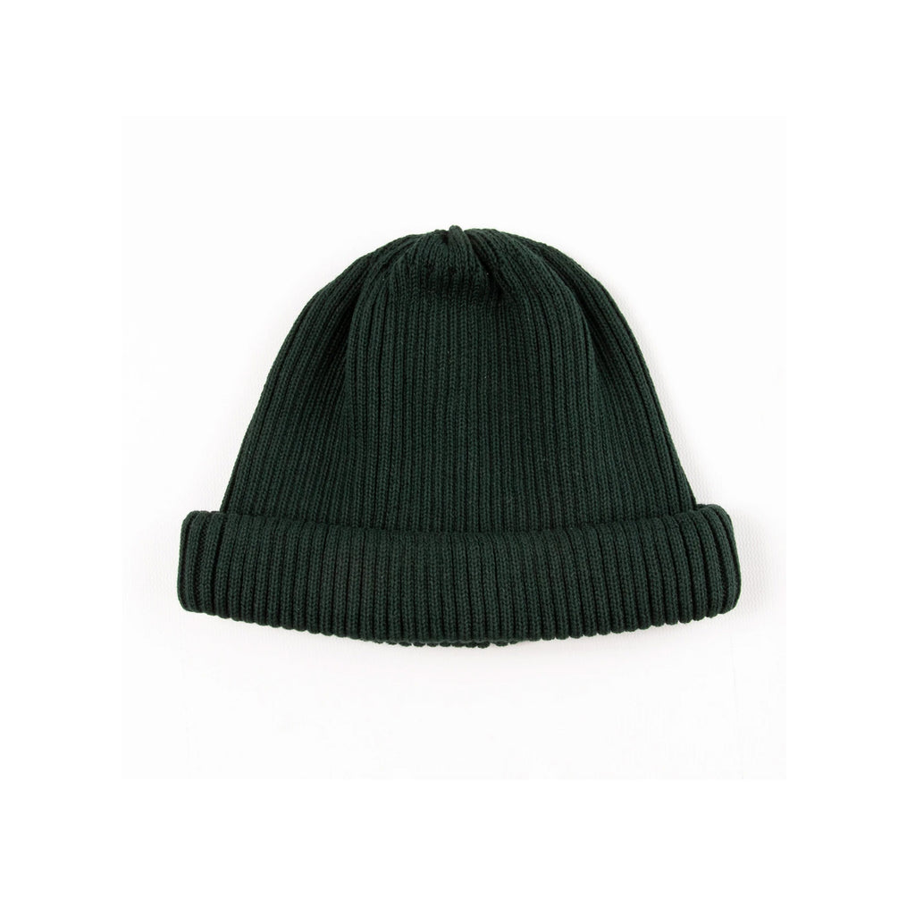 Rototo Roll Up Beanie Green R5021