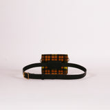 Horsy Tartan Mini Tab Belt Bag